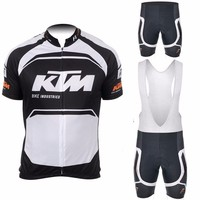 2017 Quick Dry KTM Pro Team Short Sleeve Cycling Jersey Maillot Ropa Ciclismo Cycling Clothing GEL