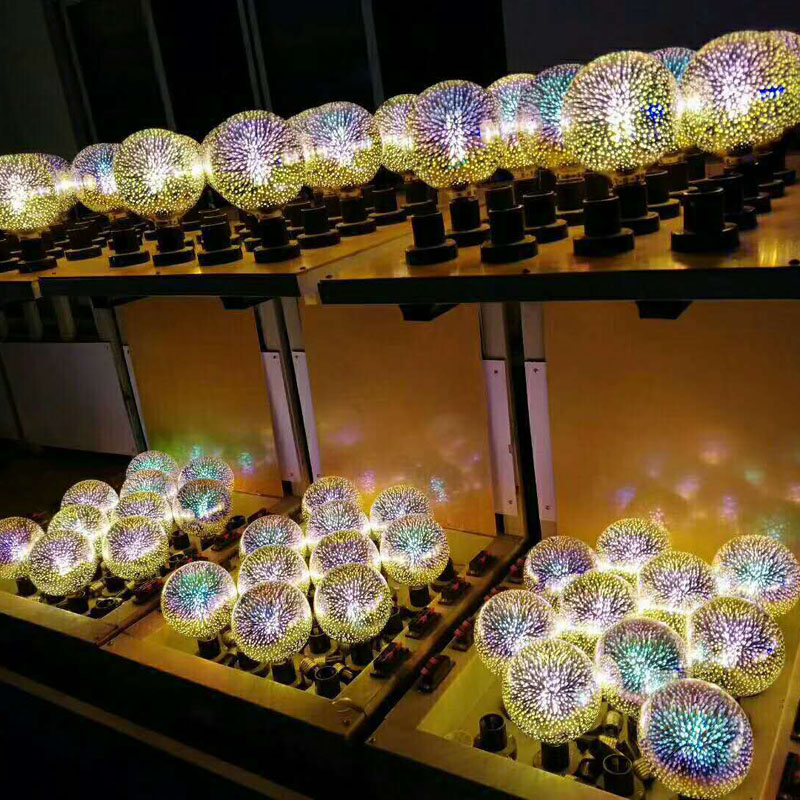 New Led Light Bulb 3D Decoration Bulb 110V 220V ST64 G95 G80 G125 A60 E27 Holiday Lights Novelty Christmas Lamp Lamparas