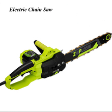 High-power 220v Gardening Tree Chain Saw Wood Saw Small Multi-functional Household Electric Saw 2200 household electric chain saw high power 16 inch woodworking saw automatic pump oil electric chain saw 220v 2200w 1pc
