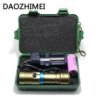 5000Lm 100M Underwater Diving Flashlight Led Scuba Flashlights Light Torch Diver XM L2 Use 18650 OR