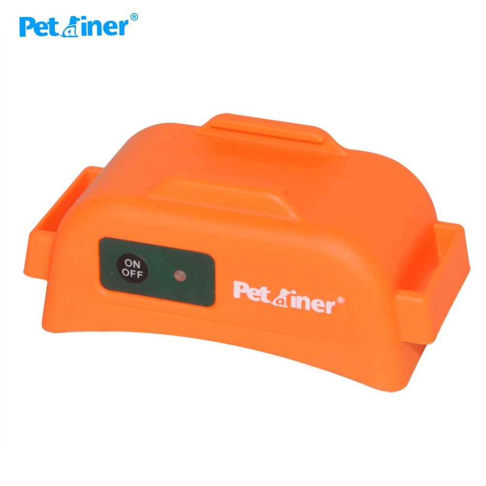 Ev ve Bahçe'ten Eğitim yaka'de Petrainer 910T 2 köpek tasması elektrikli 500M aralığı su geçirmez ve Pet köpek ürünü köpek beeper avcılık için 2 köpekler için'da  Grup 2