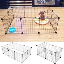 6/10 Panels Foldable Pet Dogs Playpen Crate Fence Puppy Kennel House Exercise Training Cage Puppy Kitten Space Dog Supplies