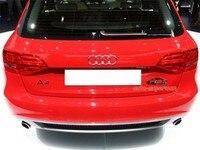 Хромированный глушитель выхлопной трубы для Audi A4 Avant Wagon 2011 2012 2 0 T бензиновый