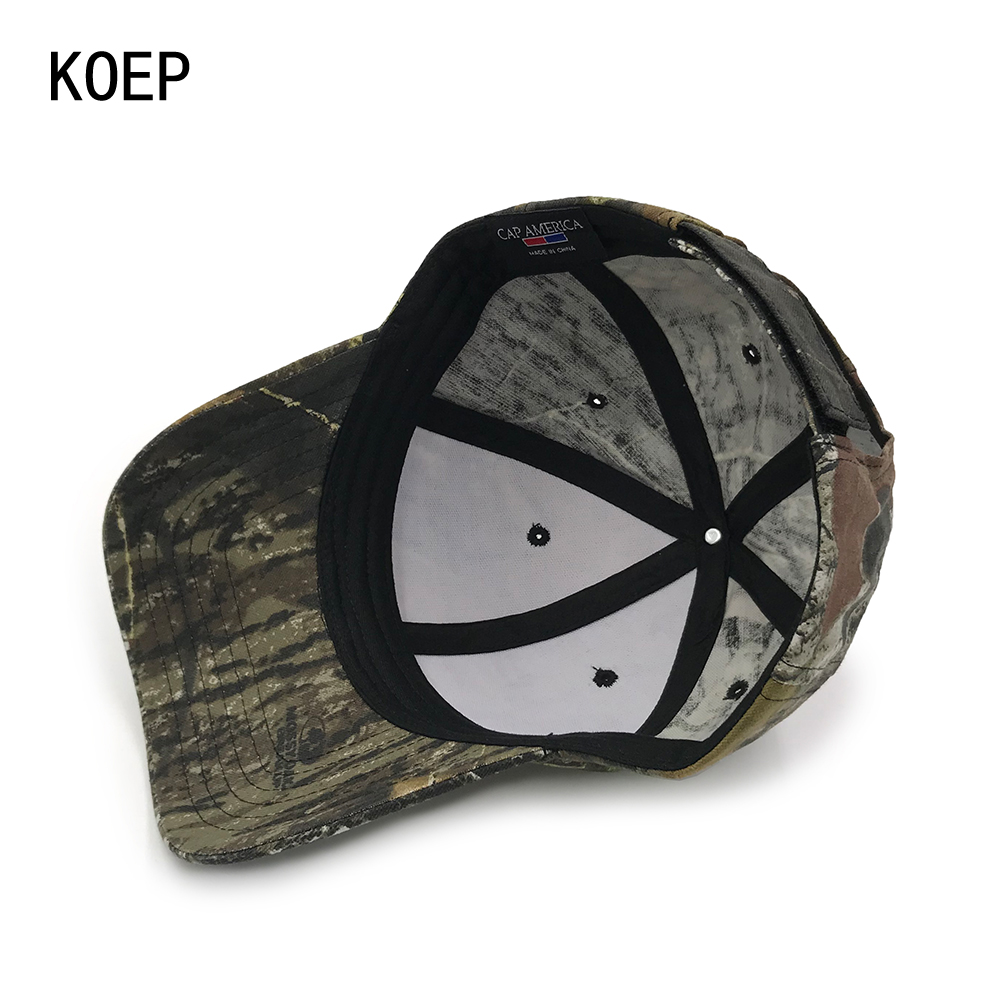 KOEP 2017 New Arrival Camo Caps Baseball Casquette Camouflage Hats  Casquette Polo Men Desert Hat Hunting Fishing Outdoor Cap-in Baseball Caps  from Men s ... 4ab4dbb27be