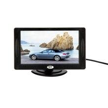 Nuevo 4.3 «Color TFT LCD Retrovisor Del Coche Monitores para DVD Inversa de Copia de seguridad Cámara de conducción de Vehículos de accesorios