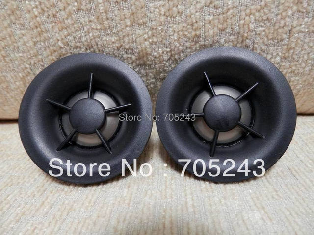 free shipping  pair 2pcs HIEND 25MM titanium dome Neo magnet tweeter 4ohm 30W