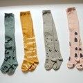 Mini vestir Crianças Meia-calça Outono Inverno Menina Apertado Europeu Boutique Bonito Collants Criança Aquecedores de Pernas Do Bebê Algodão Tghts