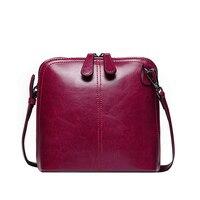 New Genuine Leather Shell Women Shoulder Bag Luxury Brand Bag Women Messenger bag Famous Designer Brand Women Crossbody bag