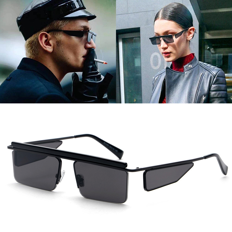 JackJad 2018 Fashion Trend Avant-Garde Future Style Sunglasses Cool Street Snap Brand Design Sun Glasses Oculos De Sol S31050