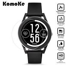 a792a21ad6b Para o relógio inteligente fossil gen 3 esporte smartwatch-q controle de  vidro temperado película protetora protetor de tela de .