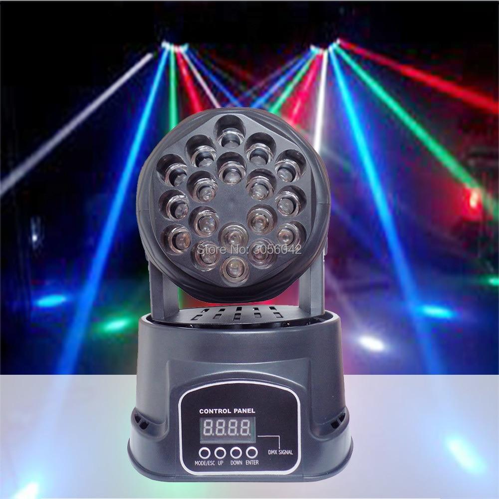 2017 NWE 18X3W Beam moving head light professional RGB LED  Moving Stage Lighting2017 NWE 18X3W Beam moving head light professional RGB LED  Moving Stage Lighting