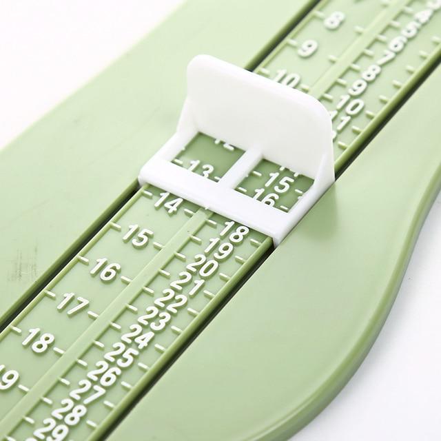 Règle de mesure de pied pour enfant   Kit de règle de mesure de la taille des chaussures de bébé, Kit de mesure de pied pour enfant en bas âge
