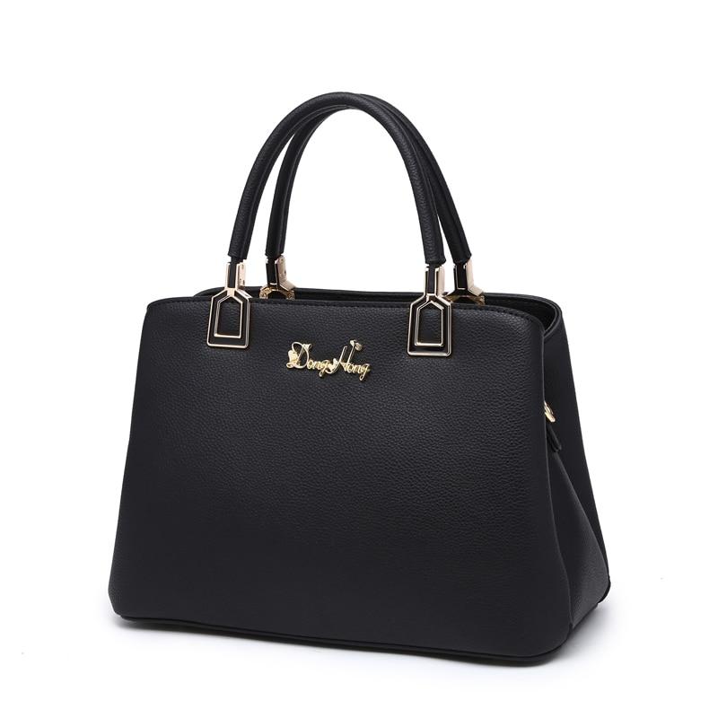 ФОТО DongHong Genuine leather Handbag Female shoulder bag Real leather Messenger bag Office lady Handbag designer women's bag