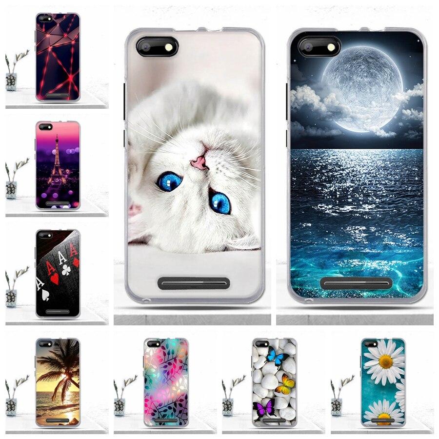 Luxury Case For BQ BQS-5020 Strike Case Soft Silicone TPU Phone Protective Back Cover For BQ 5020 BQS BQS5020 Case Capas Bags