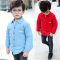 Baby Boys Shirts Velvet Winter Cotton Shirts Fashion Kids Clothing Casual Autumn Shirt Brand Blouse Warm Infant Clothes Vestidos