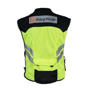 Image 2 - רכיבה שבט אופנוע אופנוע אופני מירוץ גבוהה גלוי רעיוני אזהרה מעיל, JK22 בגדי בטיחות רעיוני