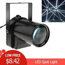 5W LED Spotlight White Beam Pinspot Light 200-220LM Stage Lighting Effect Lamp for DJ Disco / KTV / Bar