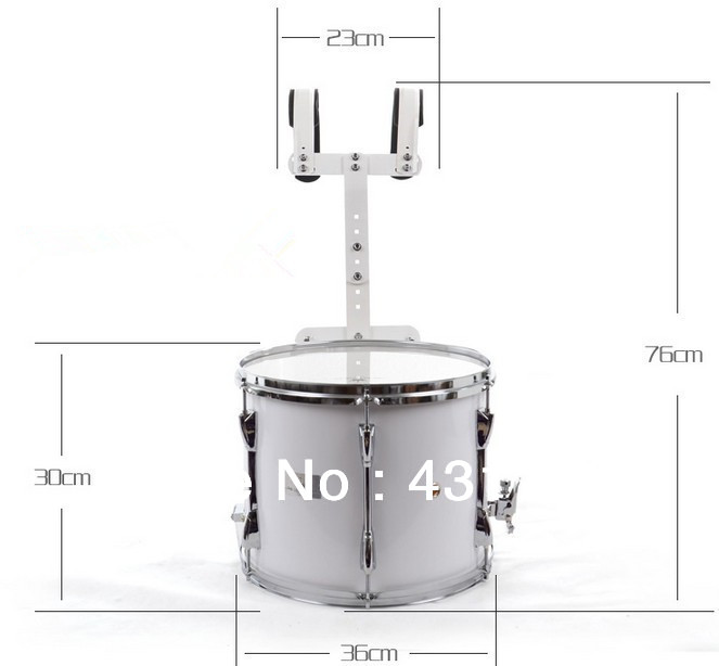 14 Marching Snare Drum Basswood shell Percussion Musical instruments Shipping time 10-15 days suerte 14 3 5 snare drum high quality stainless steel shell die cast hoop drum percussion instrumentos musicais profissionais