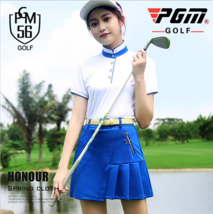 Costume de Tennis pour femmes costume de golf Badminton volley-ball course acclamant sport polo taille haute plissé boufantaisie robe courte