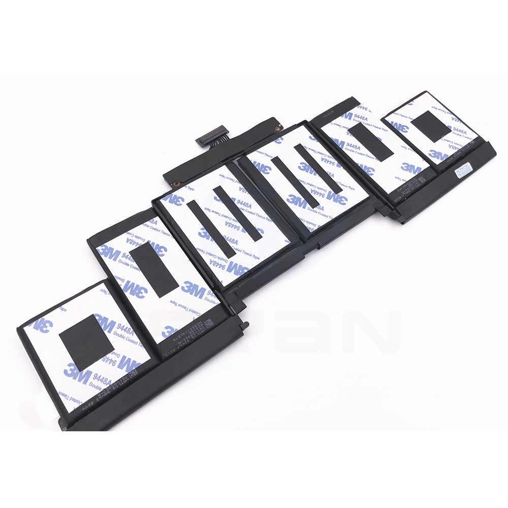 A1618 batterij voor Macbook Pro Retina 15.4 ''laptop A1398 Batterij MJLQ2LL/EEN MJLT2LL/EEN compatibele 2015 jaar 95Wh 11.36V