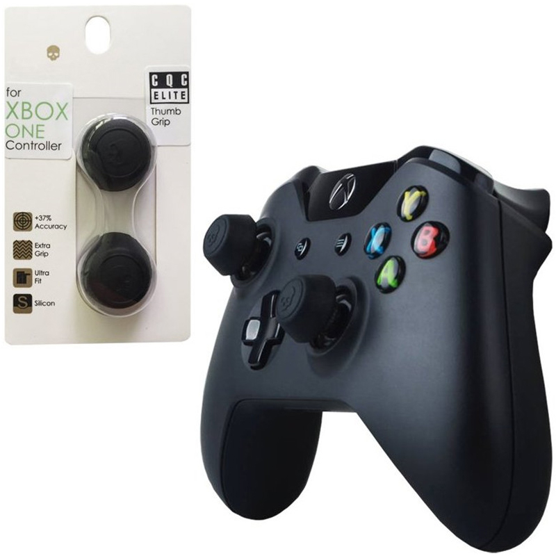 For Xboxone Silicone Analog Thumb Stick Caps For Xbox One Controller Skull & Co. CQC Elite Thumbstick Cover For Xbox One Gamepad