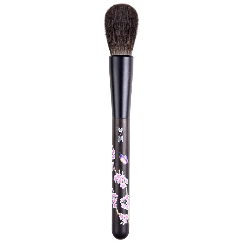 H208 Professional Makeup Brushes Ultra soft Blue Squirrel Hair Blush Brush pincel maquiagem Make Up Brush