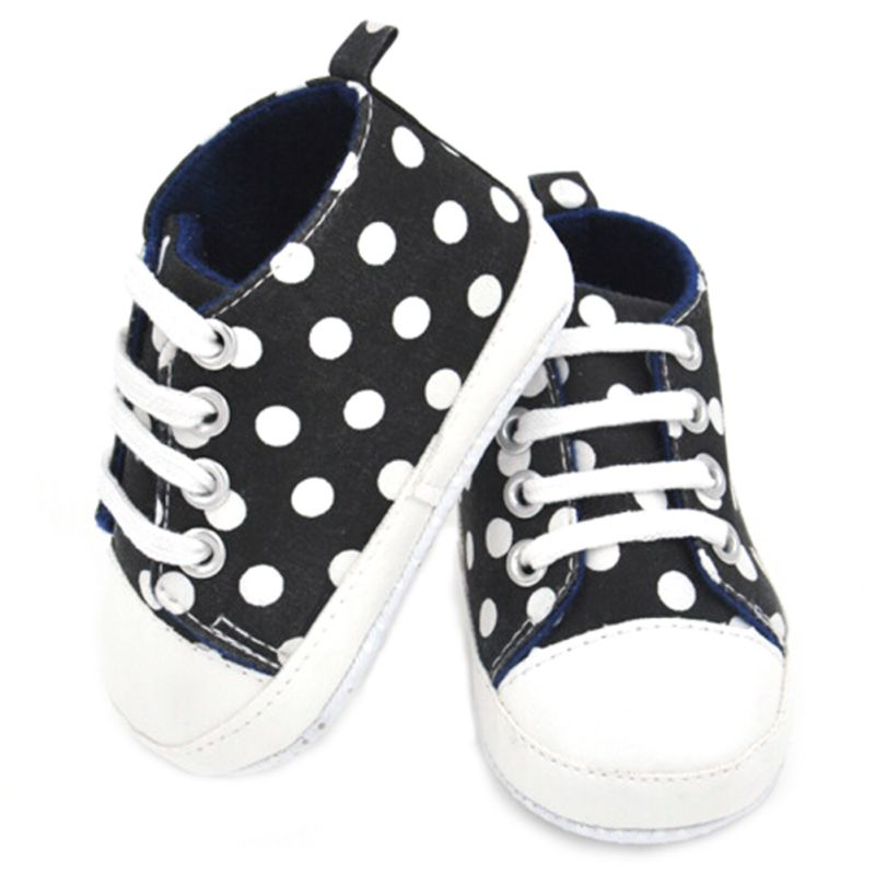0-24 Months Baby Boy Girls Casual Slip On Laces Shoes Prewalker First Walkers Shoes New