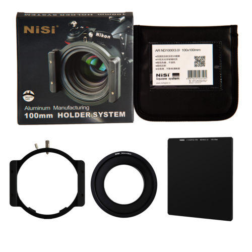 NiSi 100mm ND1000 Kit Square Filter Neutral Density 10 Stop Optical Glass holder 58mm ring for Canon EF-S 55-250mm f/4-5.6 помада maybelline new york maybelline new york ma010lwjkz94