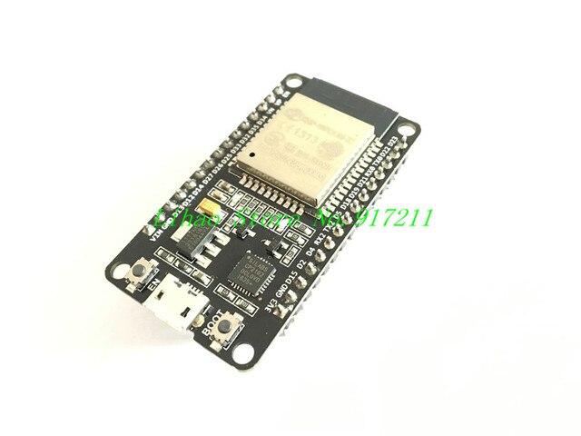 ESP32 Development Board WiFi+Bluetooth Ultra-Low Power Consumption Dual Cores ESP-32 ESP-32S Board Free Shipping
