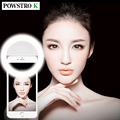Selfie led light up flash fotografía luz luminosa luz del anillo 36 unids led 3 niveles de brillo clip en todos los móviles teléfono
