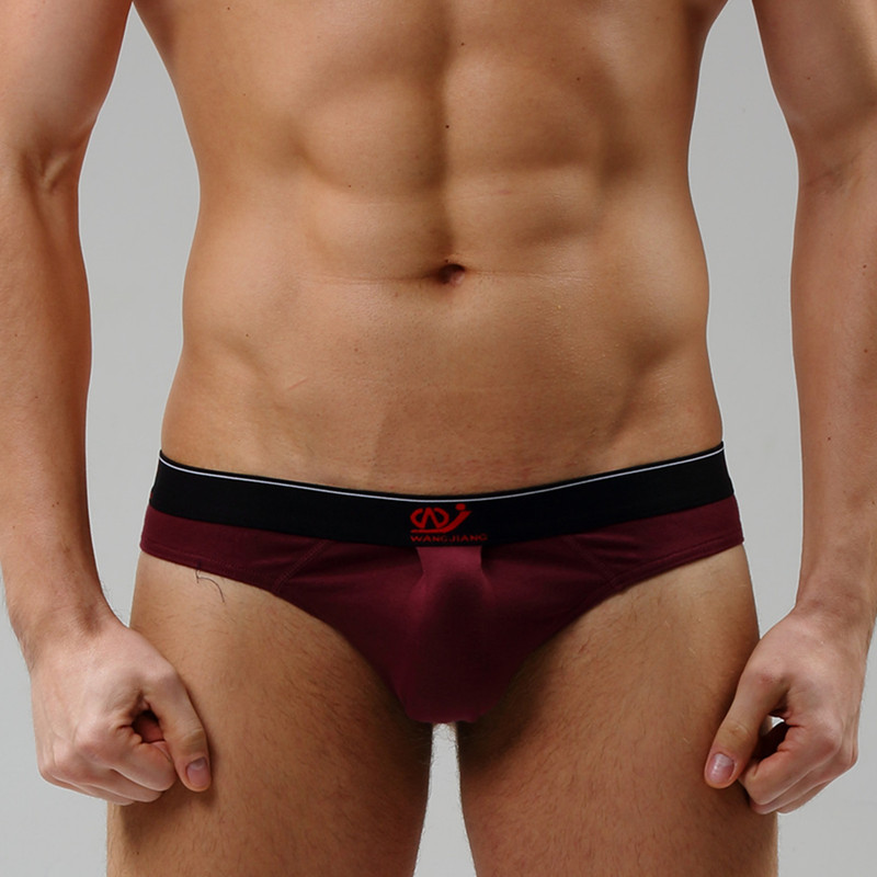 Soft Cotton Men's G-Strings & Thongs Sexy Cool Men Underwear Breathable Brand G String Man Thong Fashion 9 Colors
