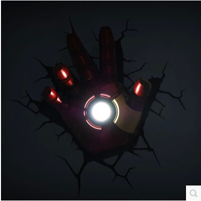 2018 new hot sale dream master 3d marvel iron man hand led wall lamp 2018 new hot sale dream master 3d marvel iron man hand led wall lamp dc12v in novelty lighting from lights lighting on aliexpress alibaba group aloadofball Images