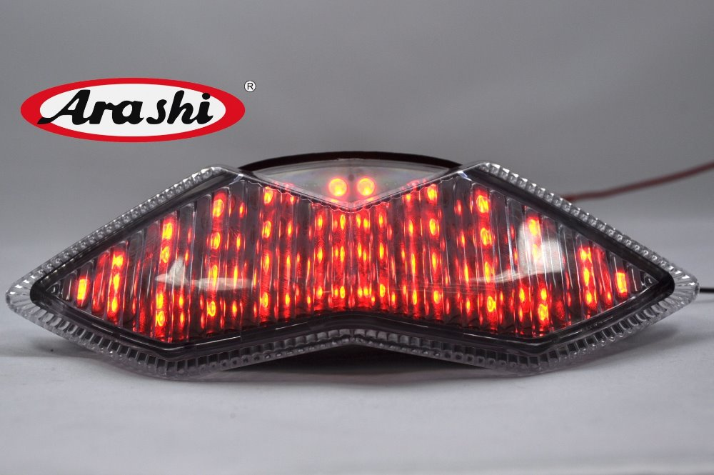 Араши <font><b>Z1000</b></font> встроены светодиодные Задний тормоз фонарь для Kawasaki <font><b>Z1000</b></font>/Ninja 1000R 2011 2012 поворотник свет фонаря