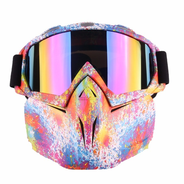 Retro Tactical Mask Harley Goggle Glasses Multi Colors For Nerf Toy Gun  Game Rival Ball Outdoor