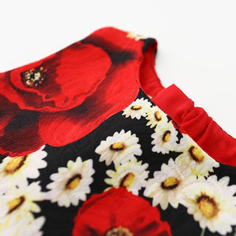 Vintage Flower Қыздар Қыздар Костюмдары - Балалар киімі - фото 5