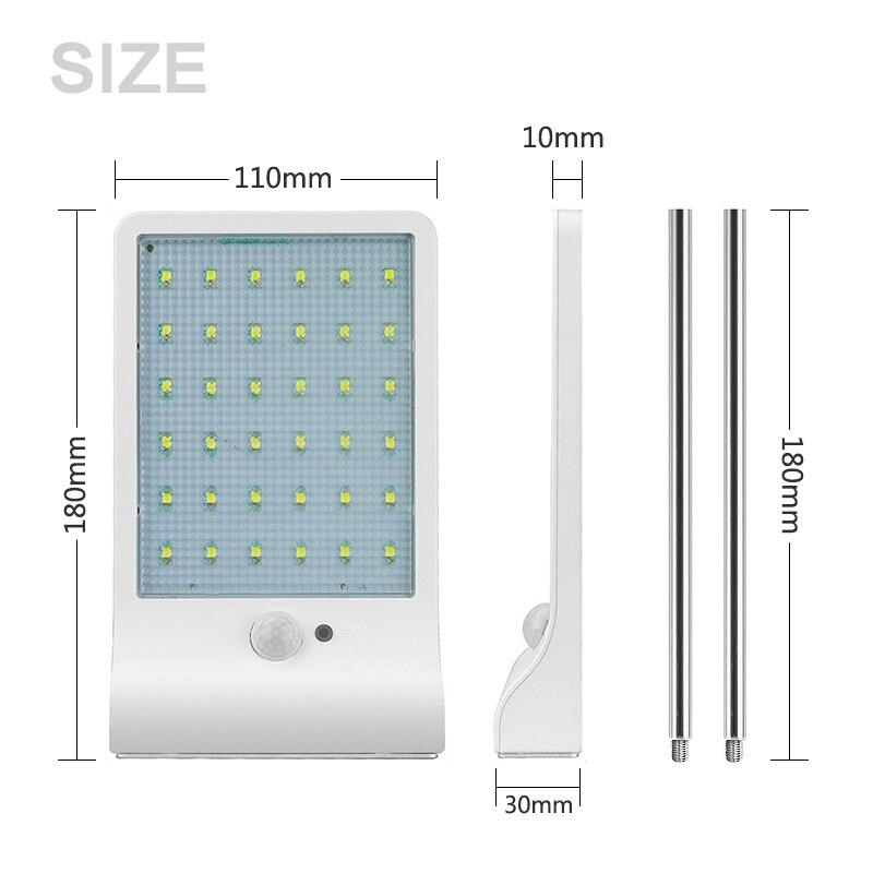 Lâmpadas Solares ao ar livre iluminação de Características : Pir, solar Light