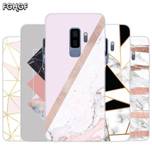 Marble Grain Painted Pattern TPU Back Case For Samsung Galaxy A50 A30 A10 S10 lite S9 S8 Plus M10 M20 Cover Coque