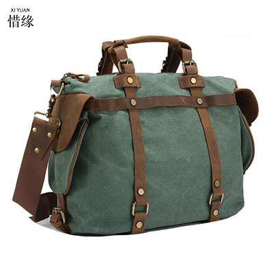 3251d5e388ac unisex Vintage Canvas messenger bag totes leather soft man travel bags  retro school bag hasp cover