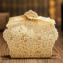 Laser Cut Favor Candy Box Paper Candy BOXES Gift Boxes