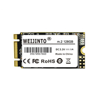 WEIJINTO m.2 ssd 512gb 500gb 2242mm SSD M2 SATA NGFF 1TB 2TB HDD 2242mm disco duro ssd For Notebook PC