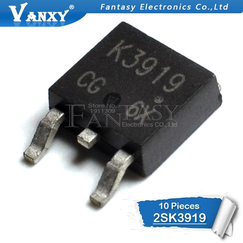 10pcs 2SK3919 TO-252 K3919 TO252 New Original