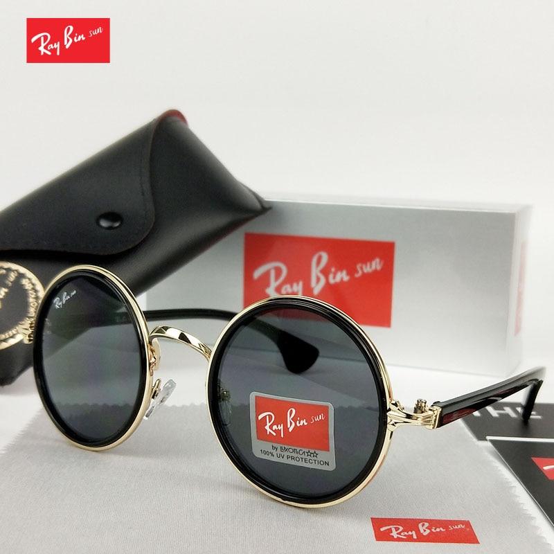 Ray Bin Sun Merk Zonnebril Dames Gradiënt Zonnebril Aluminium Frame Zonnebril Heren Rijden Goggle Eyewear Accessoires