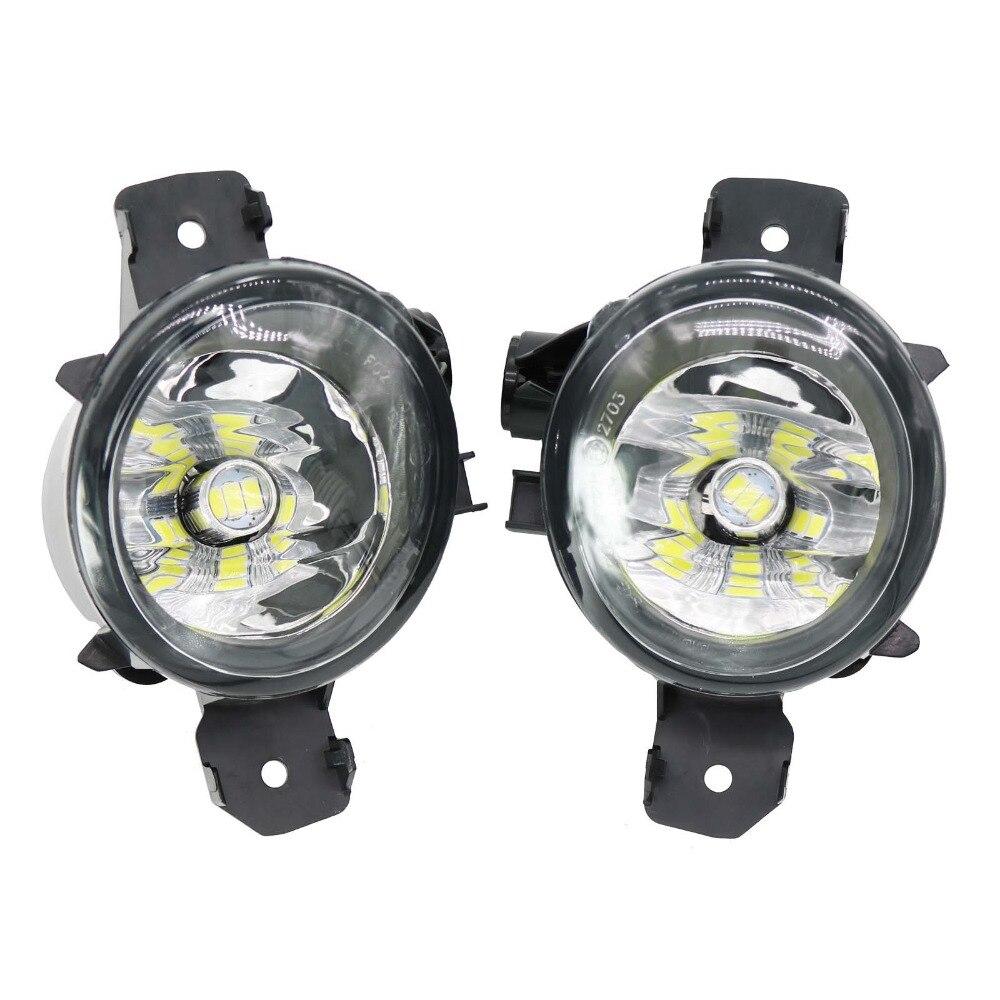 2 pièces Voiture LED Pour BMW E83 X3 2007 2008 2009 2010 LED Voiture-Style Avant LED Feu Antibrouillard Antibrouillard