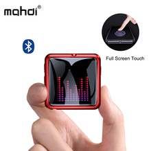 Махди M260 Mp3 плеер Bluetooth 4,1 голос Регистраторы музыкальный плеер Mp3 Сенсорный экран Портативный HIFI USB Металл TF карта Fm видео мини