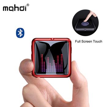 Mahdi M260 Mp3 odtwarzacz Bluetooth 4 1 dyktafon odtwarzacz muzyczny Mp3 ekran dotykowy przenośny HIFI metalowe usb karty TF Fm wideo Mini tanie i dobre opinie Zegar światowy Przeglądarka zdjęć E-czytanie książki Wbudowany głośnik Radio FM Pedo metr Polimerowa Bateria 1 4 cali