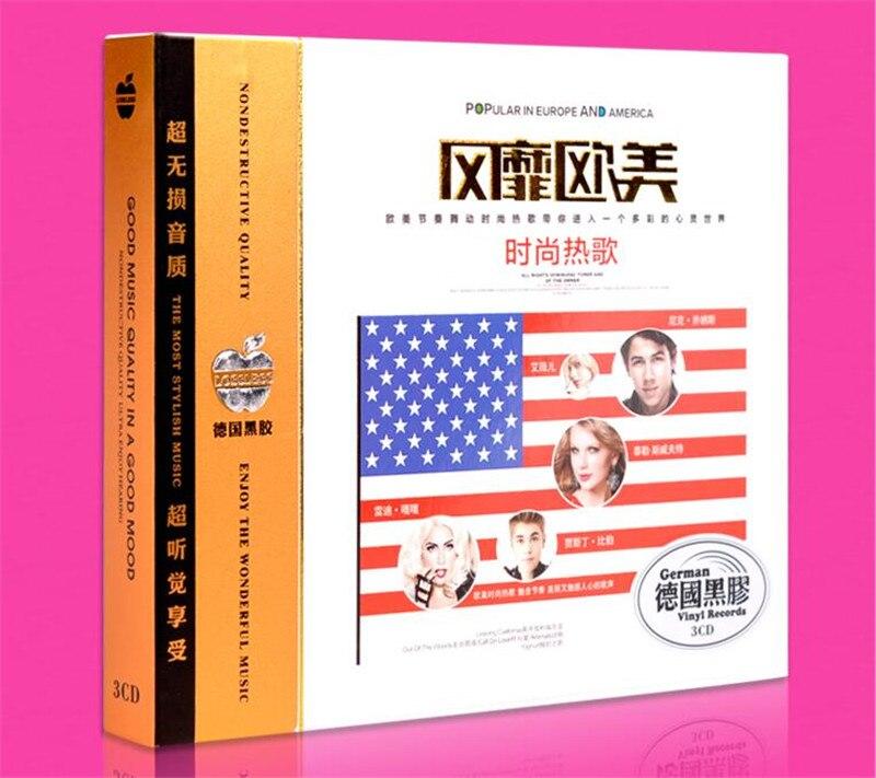 Free Shipping: Car 3CD music classic European and American fashion fashion english hot song seal