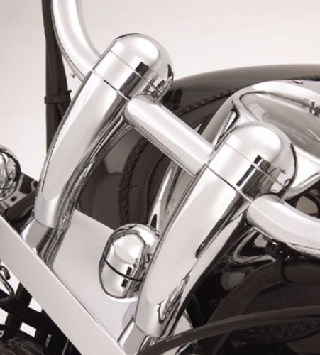 Brand new 100%  5 Height Chrome Round handlebar risers For Honda VTX Yamaha V-Star Kawasaki Vulcan 900 New brand new smt yamaha feeder ft 8 2mm feeder used in pick and place machine