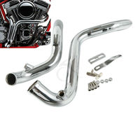 1 75 1 3 4 Drag Pipes Exhaust For Harley Softail Sportster 883 1200 Custom Forword