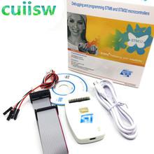 1 sztuk nowy ST-LINK V2 ST-LINK V2 (CN) ST LINK STLINK Emulator menedżer pobierania STM8 STM32 sztuczne urządzenie tanie tanio cuiisw Elektryczne Analogowe tylko