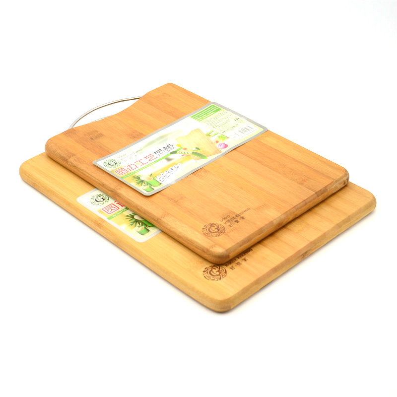 Good House Keeping Bamboo Cutting Board, Kitchen Knife Chopping Block, Wood Cutting Block Slice ...